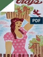 La Industria Vitivinicola en Chile - Revista Abril 1945