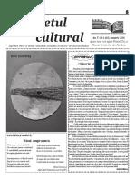 Răsunetul cultural ianuarie 2017