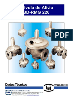 Válvula de Alívio Bd-rmg 226