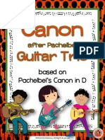 Guitar Trio Can on After Pachelbel