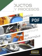 Guia Productos Servicios para reparar y pintar automoviles