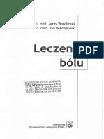 Wordliczek J., Dobrogowski J. - Leczenie BĂłlu