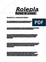 Mr.roleplay Rulebook