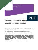 Elections 2017 - Horizon 2022
