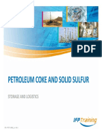 H_Petroleum Coke and Solid Sulfur