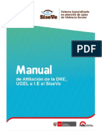 Manual Para Afiliación de DRE UGEL e I E