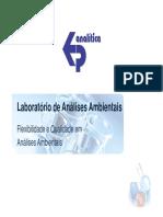 Apresentacao Ep Analitica v 0 BTEX SOLO VARIAS CENTRAL