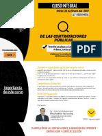 Curso Integral de las Contrataciones Públicas 2017