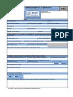 CED Cadastro de Empreendimentos de Drenagem