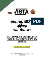 VISTA Skill-based Pay Plan Summary