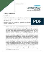Metabólitos voláteis