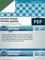 Desain Pesan Auditory