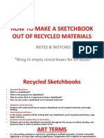 sketchbooks ppt pdf