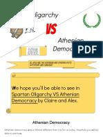 claire and alex- athenian democracy v  spartan oligarchy