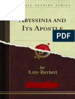 Abyssinia and Its Apostle