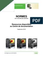 Normes Pour Divers Secteurs Et Machine