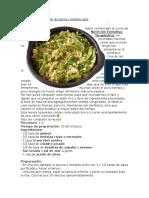 Ensalada Otoñal de Quinoa Con Lentejas