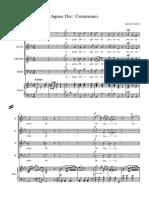Agnus Dei Communio - Full Score