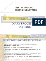 Dairy Processing Division