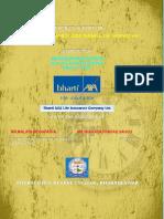 76109382 a Project Report on Bharti Axa Life Insurance Co 150824120657 Lva1 App6892