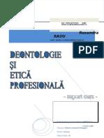Deontologie Si Etica Profesionala Anul III