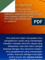 1. Mengenal Ekonomi Islam