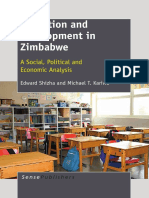 Education and Development in Zimbabwe