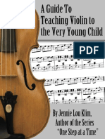 A Guide to Teaching Violin to the Very Young Child - Jennie Klim