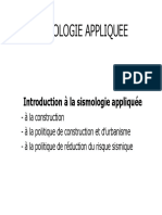 Sismologie Appliquee Niveau Info