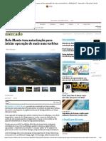 Belo Monte tem autorização para iniciar operação de mais uma turbina - 06_01_2017 - Mercado - Folha de S.pdf