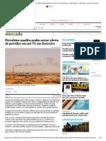 Petroleira saudita avalia cortar oferta de petróleo em até 7% em fevereiro - 05_01_2017 - Mercado - Folha de S.pdf
