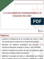 Tema 1 La Dirección Estratégica en La Empresa Parte II
