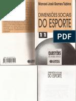 Dimensões SociaIs Do Esporte - Manoel José Gomes Tubino