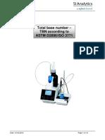 Total Base Number TBN DIN ISO 3771 ASTM 2896 280KB English PDF