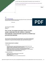Post Vacant_ Economist Principal, Secţia Cercetări, Analize, Publicaţii, Direcţia Statistica Conturilor Internaționale, Dep