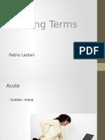 Nursing Terms