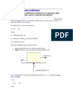 Friction and Friction Coefficients.doc
