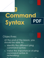 7 Ping Command Syntax