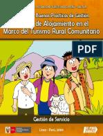 Manual de Buenas Prácticas de Gestión Servicio de Alojamiento en El Marco Del Turismo Rural Comunitario