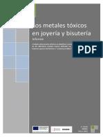 Metales Toxicos