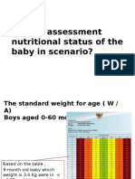 How to Assessment Nutritional Status of the Baby