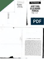 Unidad 3 Kennedy, Paul - Auge y Caída de Las Grandes Potencias