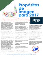 Artículo 23. Propósitos de Imagen para 2017