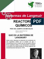 Isotermas de Lagmiur