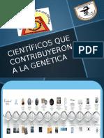 Científicos Que Contribuyeron a La Genética (Trabajo)