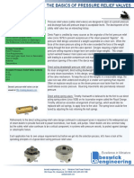 Basics of Pressure Relief Valves, Article, Beswick Engineering