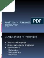 Fonética 2009 Fonema Sonido Organos Fonadores