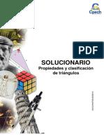 Solucionario Guía Práctica Propiedades y Clasificacion de Triangulos 2013