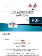 The Gerund and Infinitive