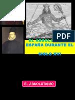 Absolutismo y España